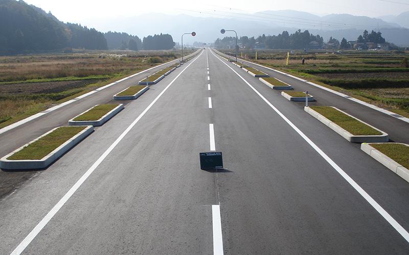 主要地方道富山立山公園線 道路交通安全施設等整備 舗装第1工区工事